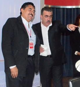 Hugo Contreras acompañado de Ramiro Hdez